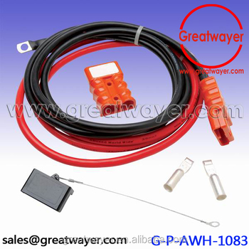 battery quick connect kit wire harness plug disconnect winch rh alibaba com winch wire harness with circuit breaker winch wiring harness