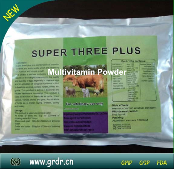 Veterinary Nutritional Medicine Multivitamin Powder For Poultry Disinfectant