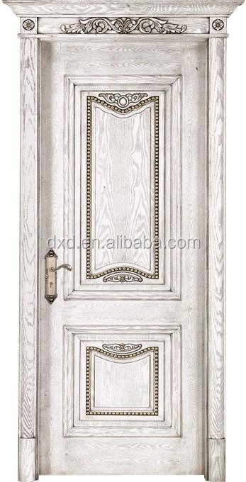 White Paint Solid Wood Doorluxury Europe Style Wooden Door Buy