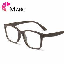 Модные мужские очки с оправой, винтажные очки с прозрачными линзами, пластиковые Матовые коричневые очки с леопардовым принтом 2020 G8019 1(Китай)