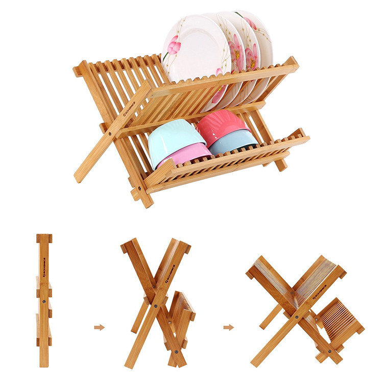High Quality Bamboo dish rack 5