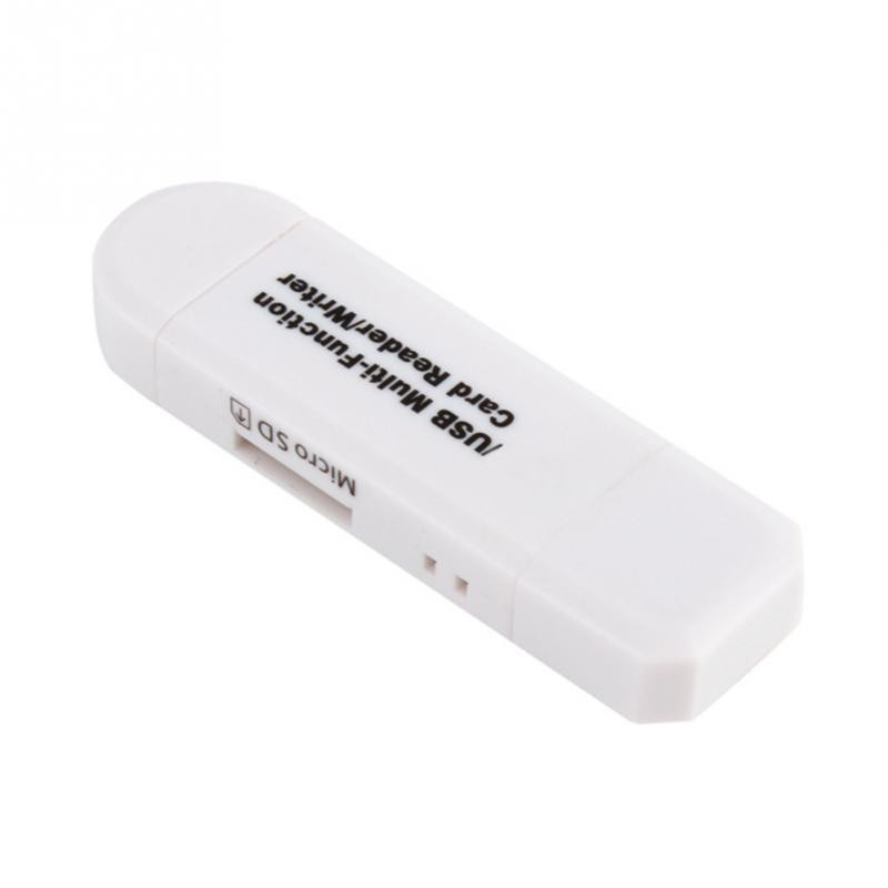 High Speed OTG Card Reader Writer Micro/USB 2 in 1 Multi Function tf memory Card Reader usb