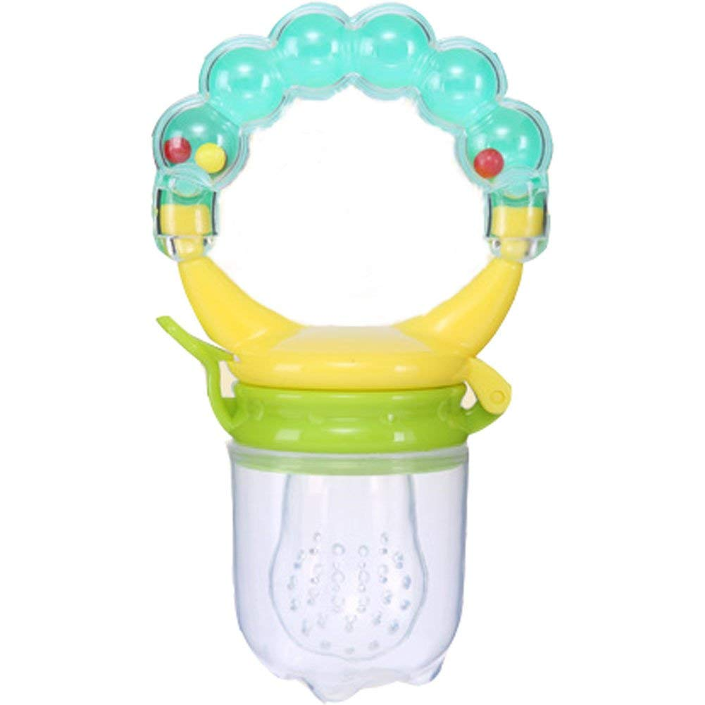 gaoyangyang Bell bite Bag Multicolor Fruit bite bite Music Pacifier Complementary Food Rattle bite bite Nutrition