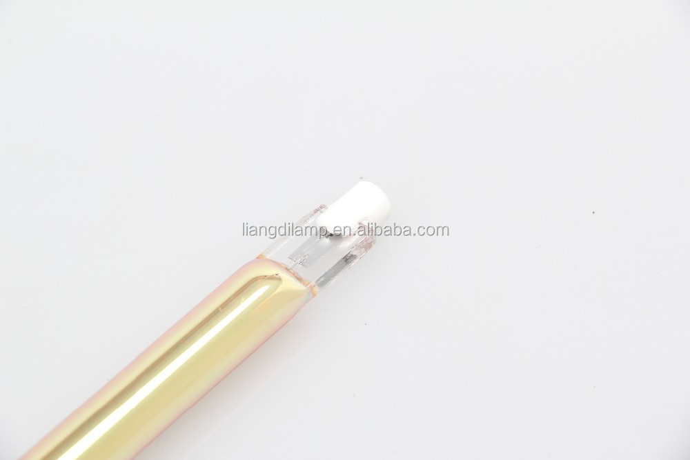 portable infrared curing lamp quartz glass tube