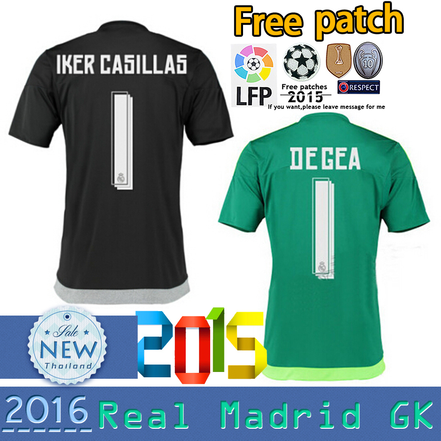 c29be544e top fast uniforms kit real madrid 2017 2018 soccer jersey 1 casillas 1  navas 13  soccer jersey de gea goalkeeper real madrid