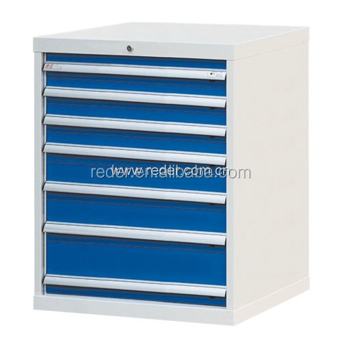 stainless steel Tool case storage cabinet with 7 drawers