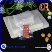 Custom design vacuum Transparent Retort Boiling Plastic pouch Food packing