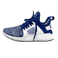 2019 Latest design fly knit fabric running sports shoe for men