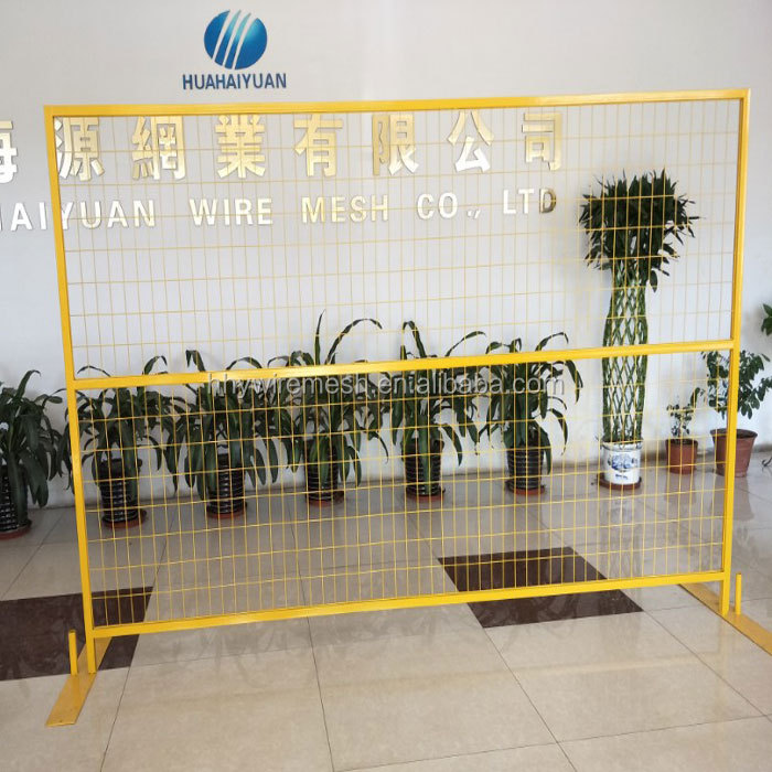 factory produce welded temporary mesh fence Wholesale Modern with competitive price safety canada temporary fence