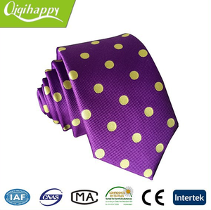 Casual popular 100% silk suitable price christmas silk tie men for sale