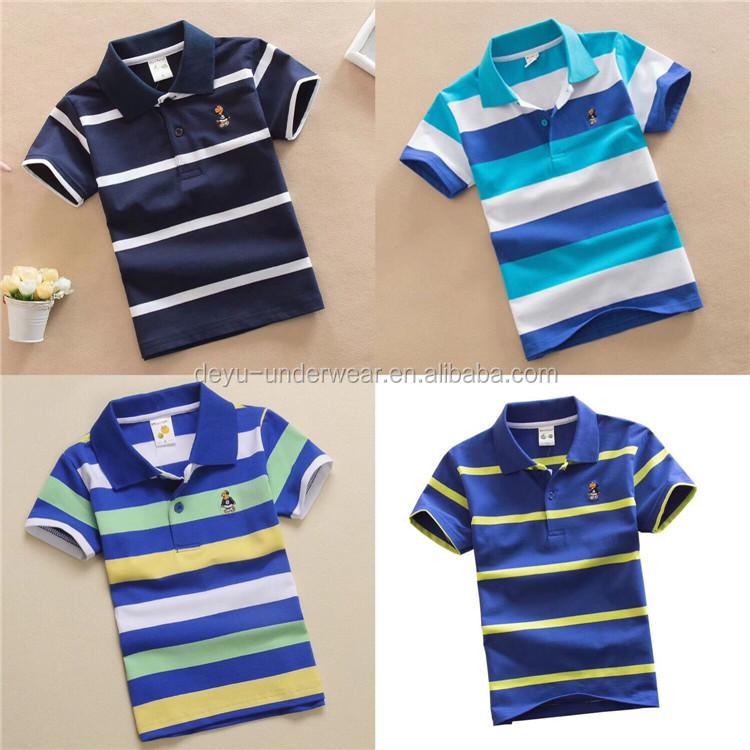1.5USD Wholesale GDZW779 pure cotton little kids polo t shirt, polo tshirt, polo shirt 100% cotton фото