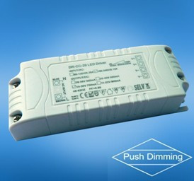20w push dimming constant current or constant voltage led driver