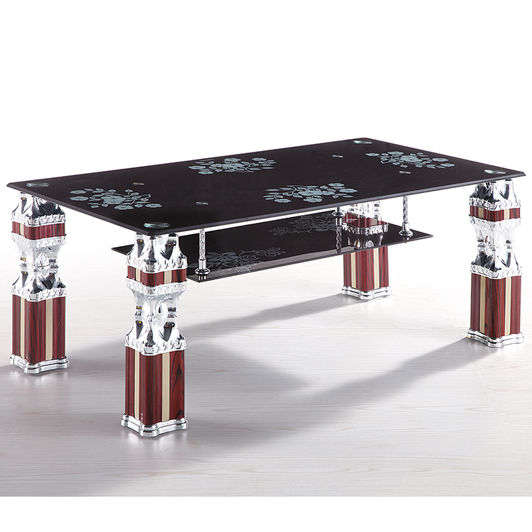 High Quality Animal Coffee Table Malaysia Square Glass Top Coffee