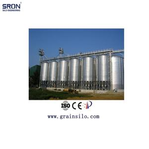 ISO CE Certificated Wheat Corn Paddy Rice Soybean Metal Storage Silo For Sale