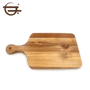 Cheap Kitchen Organic Wooden Chopping Cutting Boards with Handle