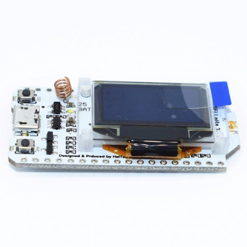 "0.96/"" SX1278 LoRa ESP32 OLED Display Blue Bluetooth WIFI 433mhz for Arduino"