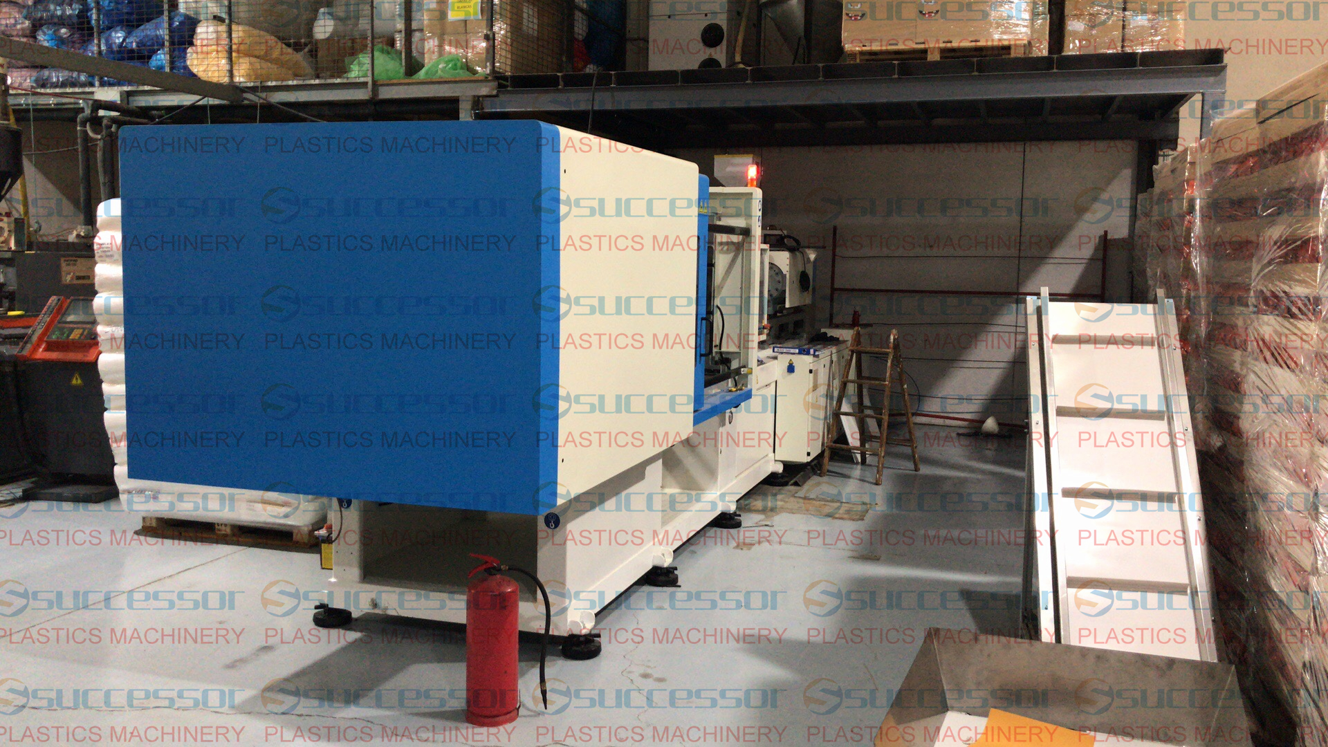 PET preform Injection Molding Machine in Spain