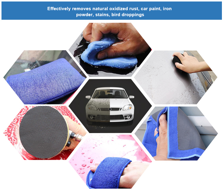 Auto Wassen Product Microfiber Magic Nano Car Care Detailing Clay Bar Doek Clay Handdoek