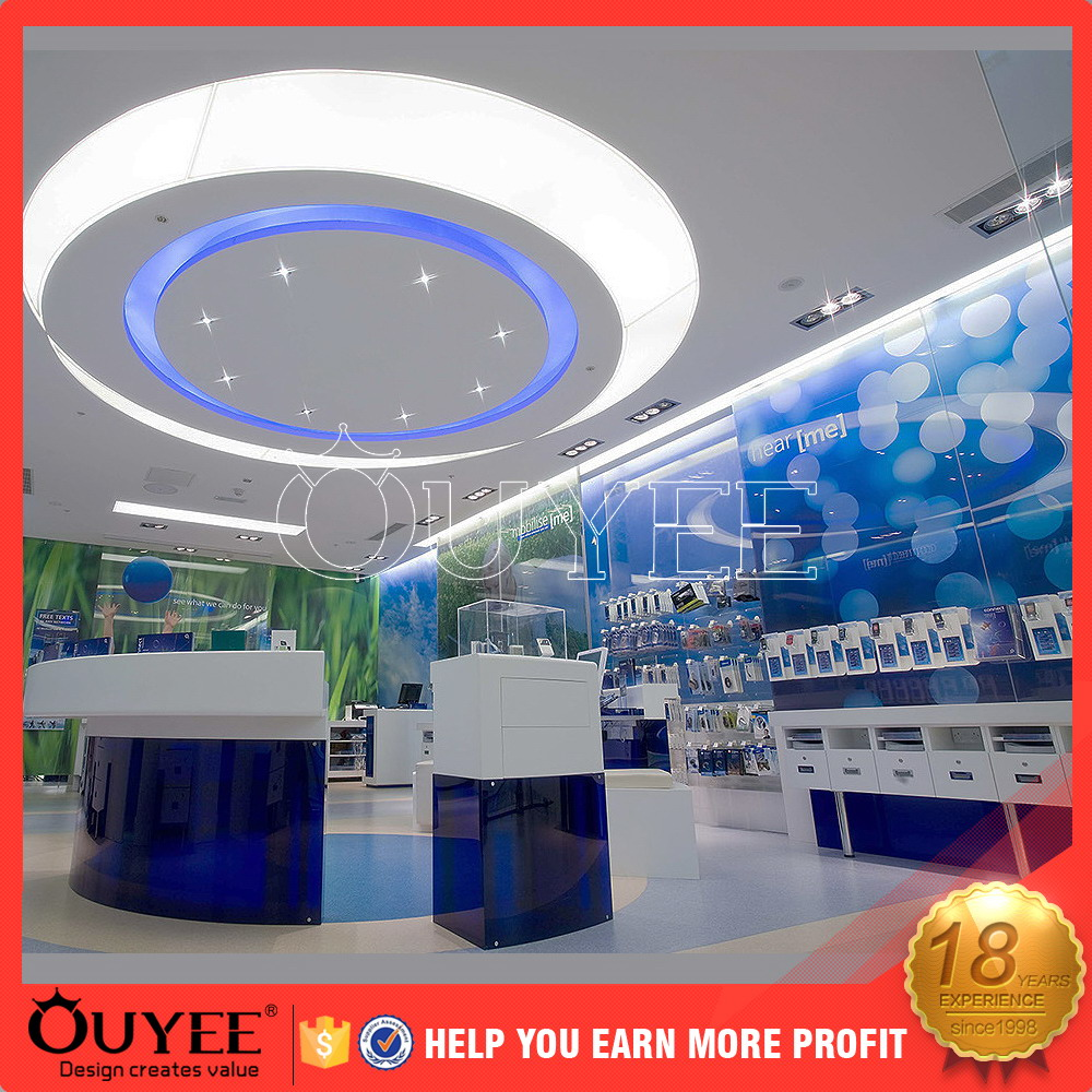 Mobile Display Cabinet Acrylic Mobile Phone Shop Display Acrylic Mobile Phone Shop