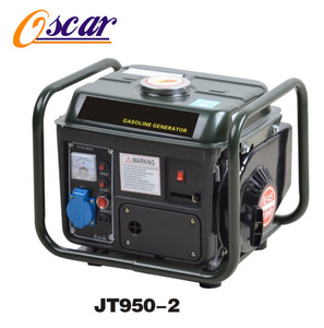 100% copper 950 dc engine 2.0HP portable air cooled recoil gasoline generator 500w