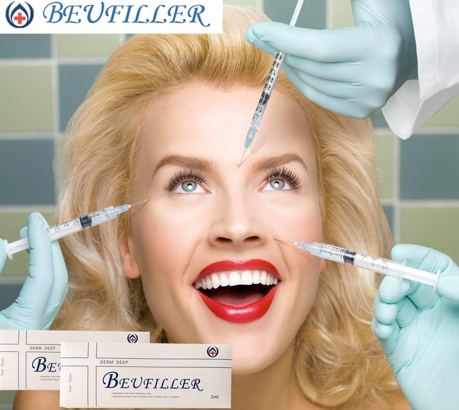 Wholesale BEUFILLER 2ml Derm Deep Facial <strong>Injectable</strong> HA Dermal Filler