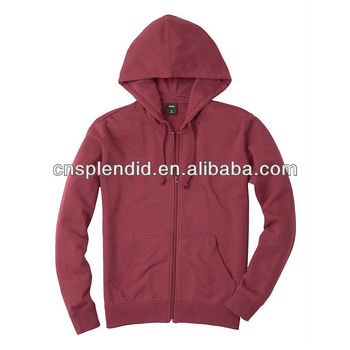 889fc86cd Customized Zip up Cotton Fleece women's Hoodies/ Sweatshirts/ Hooded  Sweater/ Custom hoodies