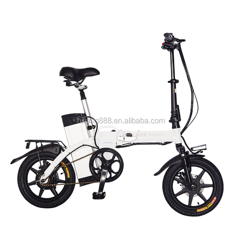 14 Inch Smart Mini <strong>Folding</strong> Electric Bike for Adults/ 48V <strong>Folding</strong> E bike/Battery Powered Bikes for Adults