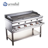 2018 FURNOTEL Commercial Smoke Gas Charcoal Free BBQ Grill Machine