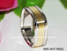 316L stainless steel men wedding ring, New Arrival, newest design