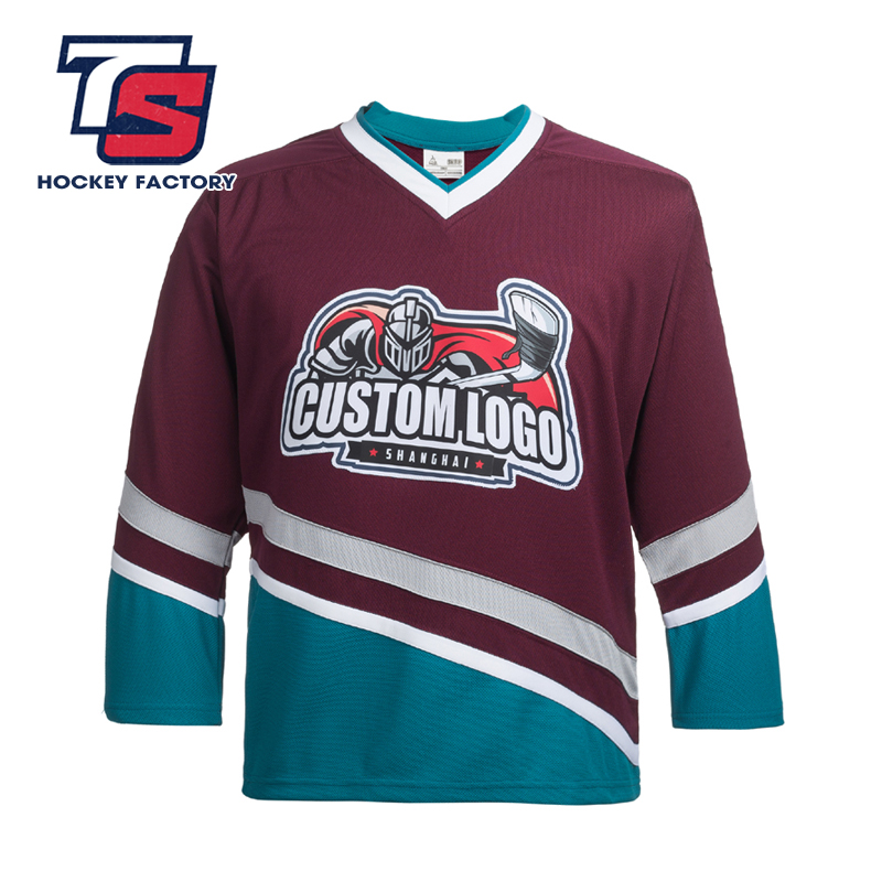 Custom Ducks Hockey Jerseys High Quality International Ice Hockey Jerseys