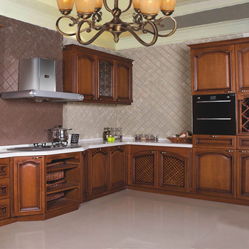 Customized Self Assemble American Classic Wooden Kitchen ...