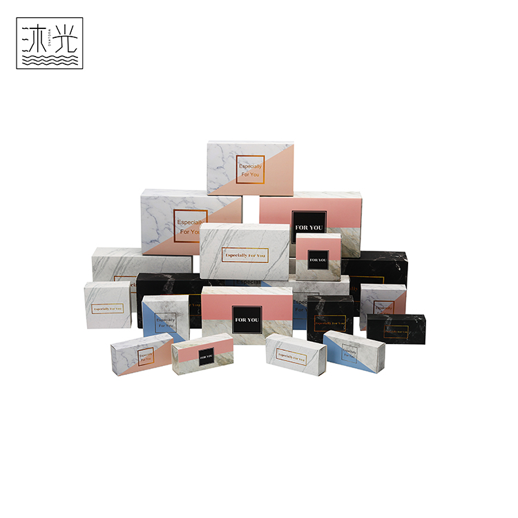 Multi Color Gift Packaging Recycled Glossy Coated Paper Cardboard Boxes For Packing
