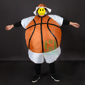 HI Inflatable Football Costume adult ball mascot costume Soccer ball carnival Halloween Costume