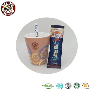 Premium 3 in 1 Mixed Powder Blue Mountain Flavor Instant Coffee