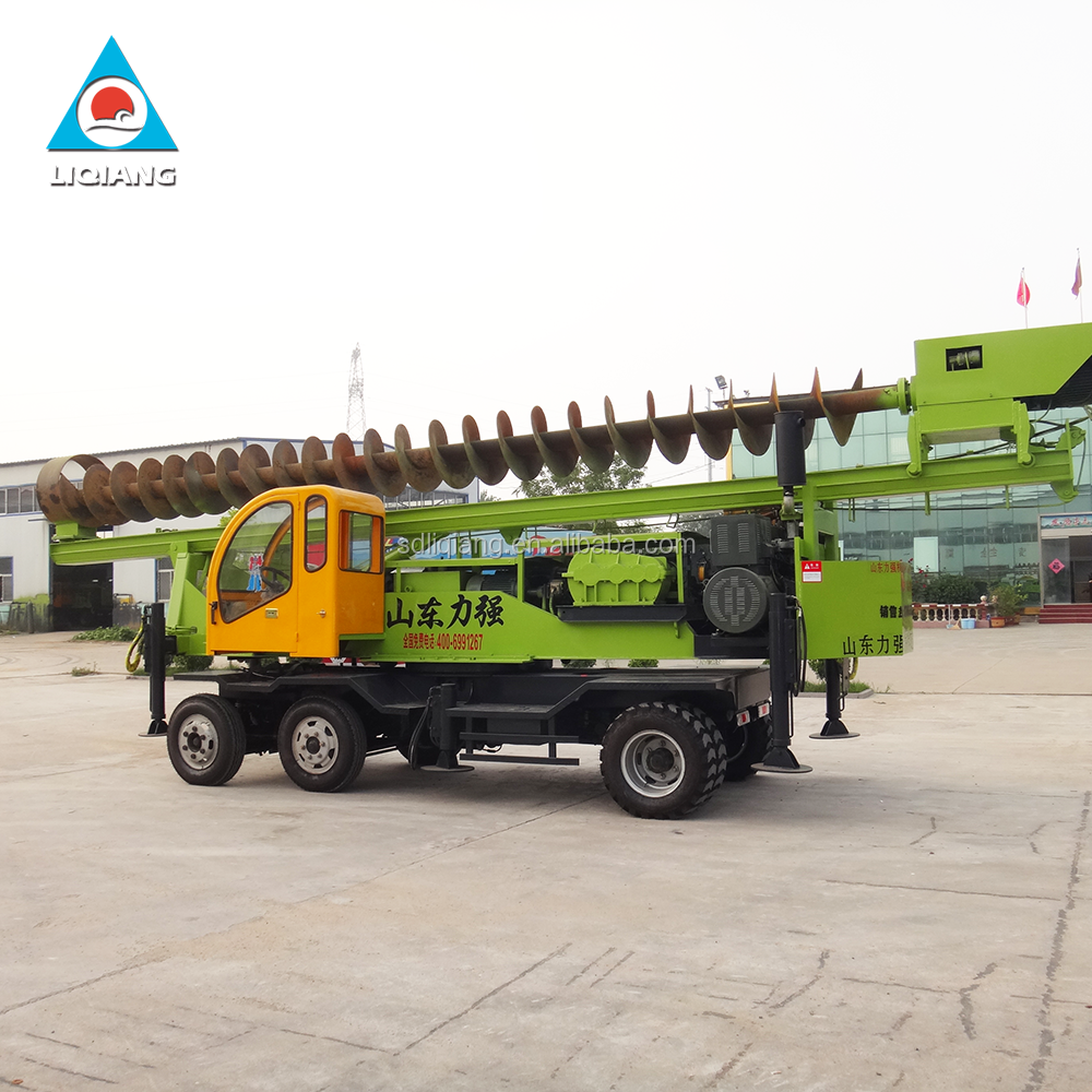 Liqiang construction equipment hydraulic piling rig machine