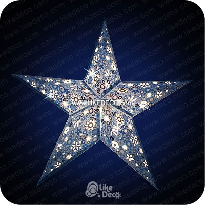 credit image creative outdoor christmas lights the garden glove - Christmas Star Light Outdoor