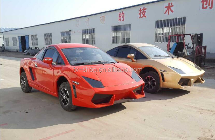 Super Cool 4 Wheel Electric 72V 4000W Car, New Energy Adult Electric Automobile Vehicle, China Factory Cheap Electric Car