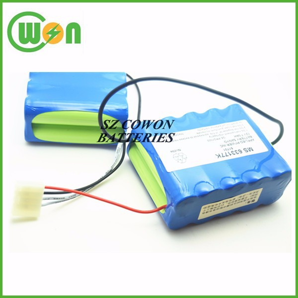 12v 7.6Ah NI-MH Battery monitor Battery for GE PRO1000 PRO1006 PRO1008 PRO1009 10N-2P17650 MS 622177K 51731 MS633177C MS633177k