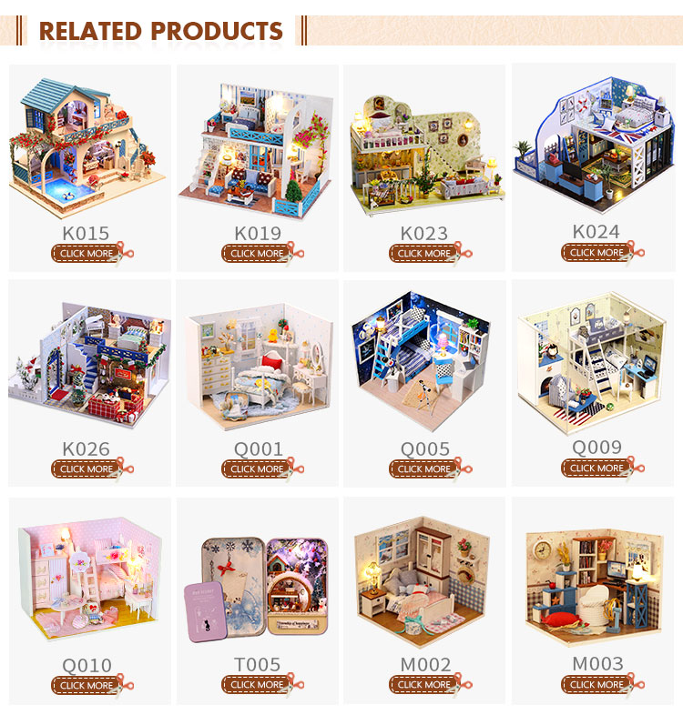 Assembly DIY Miniature Dollhouse For Gift By Dinner Room Style, View DIY  Wooden Doll House, IIE CREATE Product Details from Guangzhou Know Me Craft