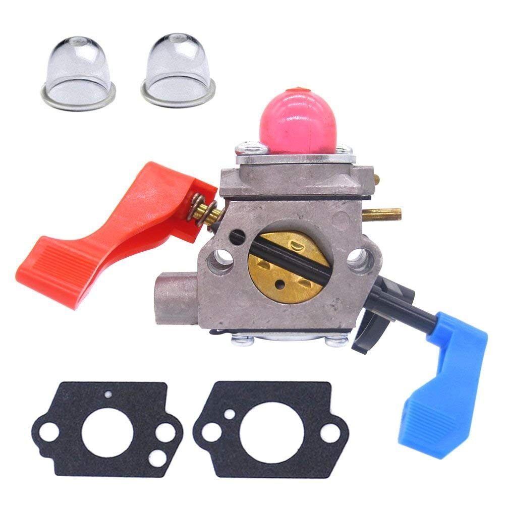 FitBest Carburetor for Zama C1Q-W11G Poulan Craftsman 530071632 530071775 BV1650 BV1650LE BV1800 BV1850 Gas Blower Carb