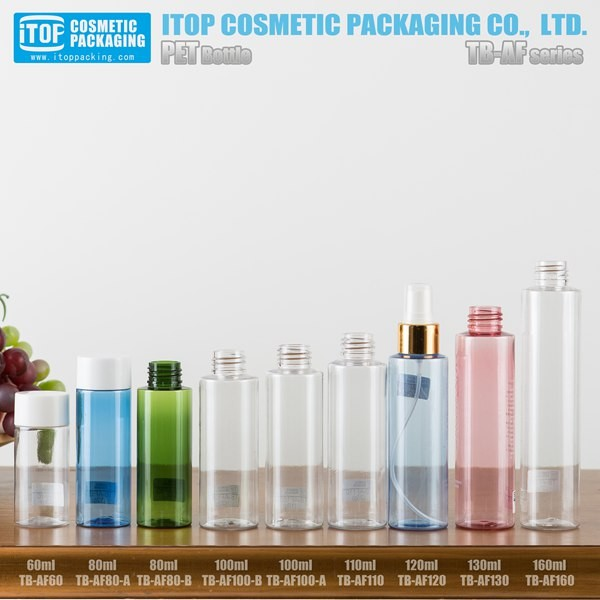 skin care set private label dropper bottle olive oil packaging PET empty plastic bottle for oils and cosmetics
