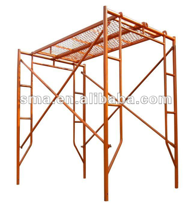 a2b8485a701e89 Q235 steel frame scaffolding for out door construction repairment. Hot sale  products