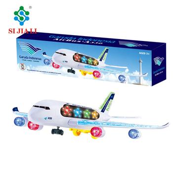 Fumetto Di Plastica B/o Giocattoli Aereo Modello A330 Aereo Di