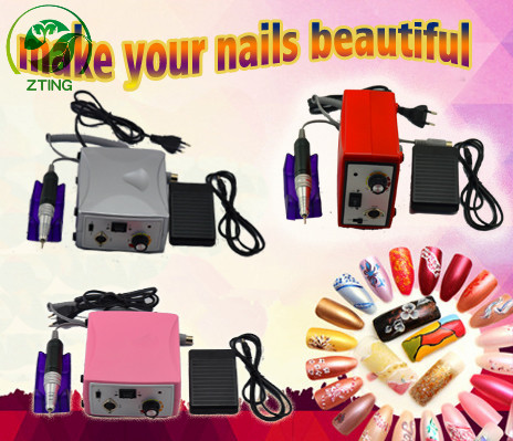High power 35000 rpm nail drill strong 65w nail art drill electric promed nail drill