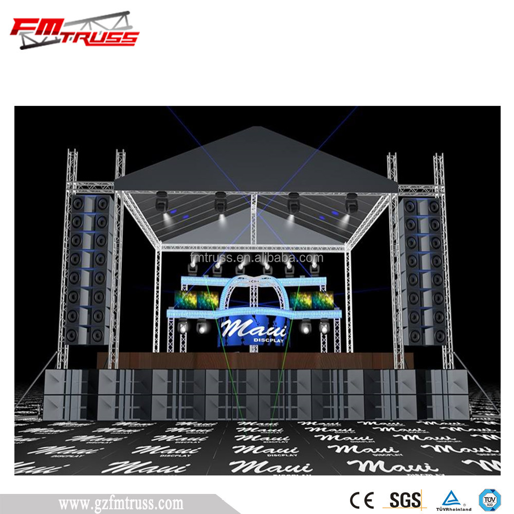 Truss Rigging System For Concert Stage Lighting Product On