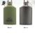 bpa free military aluminum water bottle,flat aluminum sports bottle
