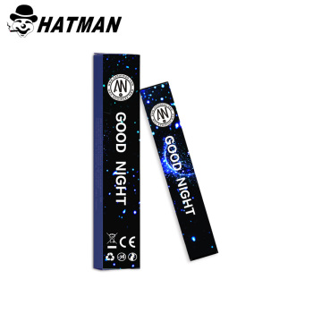 Hot selling Shenzhen Hatman cbd crystal AN disposable e cigarette 280mAh 1.1ml good taste disposable e cigarette