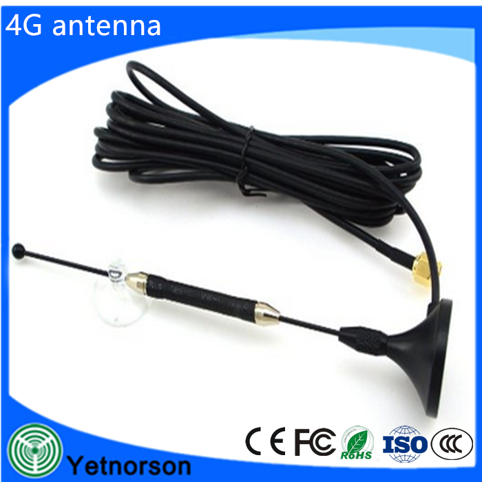 4G ts9 sucker antenna support 3G 4G noodle magnetic band 3 Block TS9 mouth
