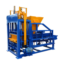 QT4-15 fully automatic hollow fly ash brick blocks making machine plant price