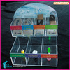 Hot Sale 3D Sticker High Capacity USB Charger Display Clear New Design Acrylic Headphone Cables Display Holder